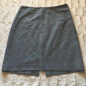The Limited Stretch Dark Gray Mini Skirt